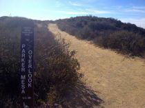 Parker Mesa Overlook spur trail