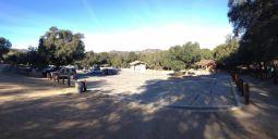 Trippet Ranch parking lot