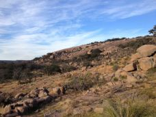 Heading up to the base of Enchanted Rock