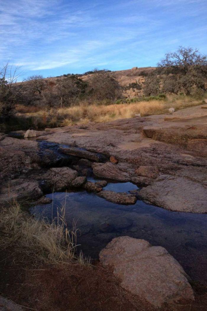 A small creek below Enchanted Rock