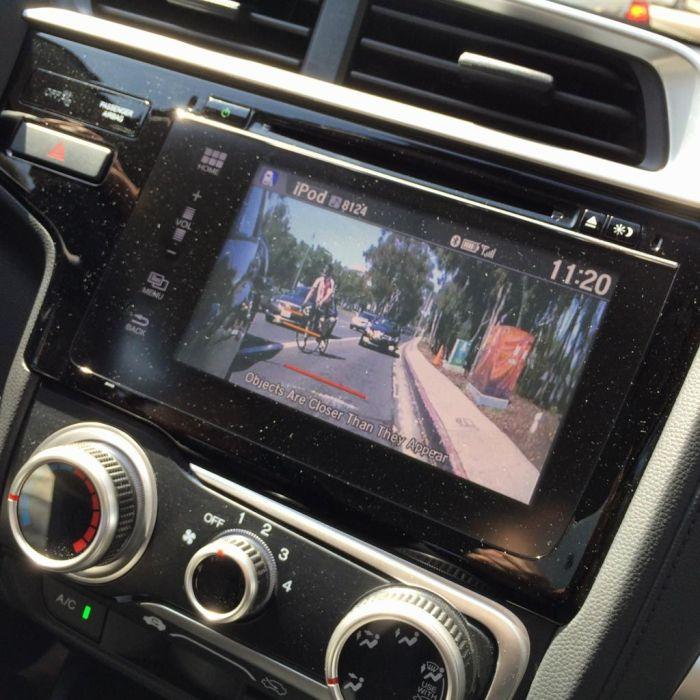 Blind-spot Camera Display
