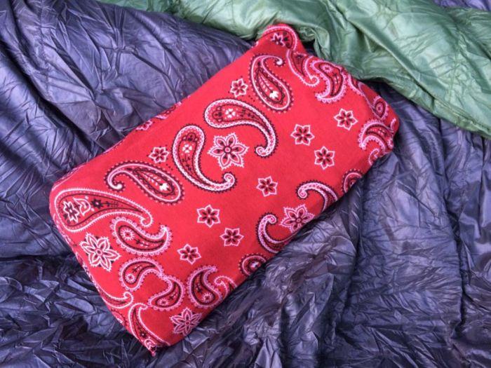 Finished Buff pillow