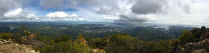 Mt Tam panorama