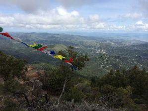 Prayer flags on Mt Tam