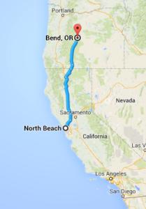 Road Trip - San Francisco to Bend