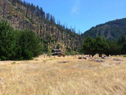 Big Flat Cabin on the Lost Coast Trail