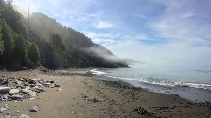 The Lost Coast Trail is a big adventure