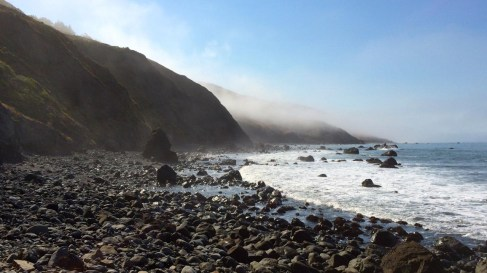 Day 2 on the Lost Coast Trail