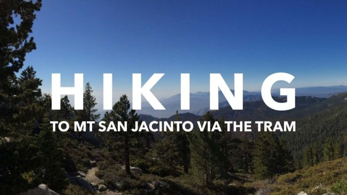 Backpacking to Mt San Jacinto via the Palm Springs Aerial Tram