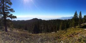Panorama en route to San Jacinto Peak