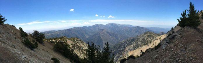 Ridgeline Panorama Looking South