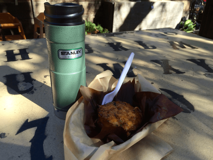 Fueling up for the Hike