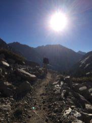 Heading toward Muir Pass