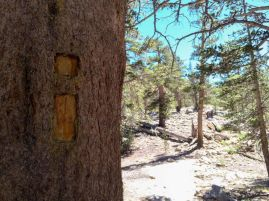 Inyo Trail Marker
