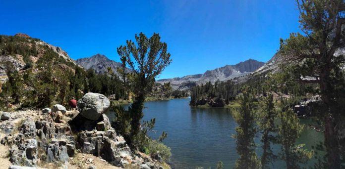 Taking a Short Break on Long Lake