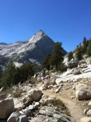 Heading Down to LeConte Canyon