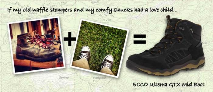 Waffle-Stomper+Chucks-Equal-ECCO-Ulterra