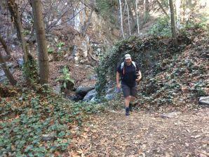 Chantry Flats-Jason on the Gabrielino Trail -07