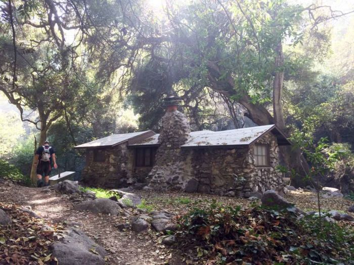 Chantry Flats-An Old Cabin on Winter Creek -20