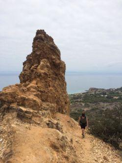 Pillow Lava Outcrop named Ailor's Cliff