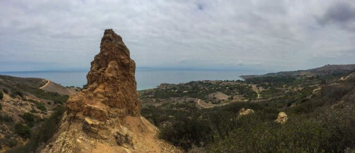 Panorama from the Rim Trail in Portuguese Bend