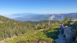 Making Track to San Bernardino Peak