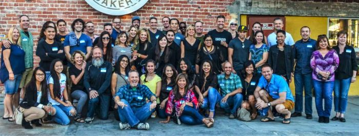 At the 2015 Six-Pack of Peaks Finishers Party