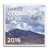 2016 Cucamonga Peak - Level 1