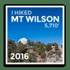 2016 Mt Wilson - Level 1