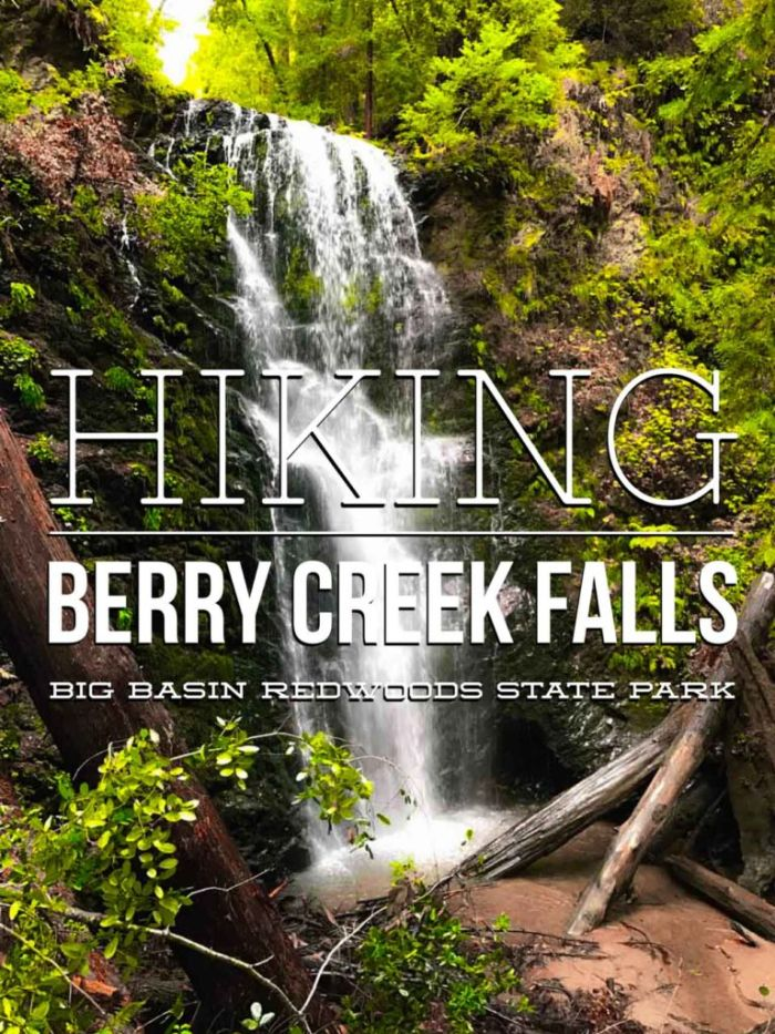 Hike to Berry Creek Falls in Big Basin Redwoods State Park