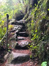 These steps remind me a bit of the Mist Trail in Yosemite