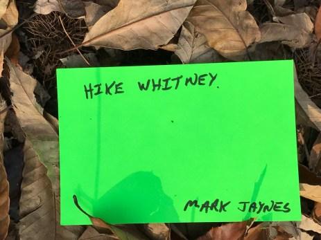 Hike Whitney