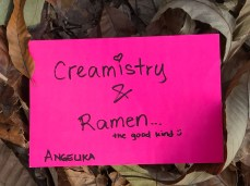Creamistry and Ramen