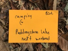 Camping at Puddingston Lake