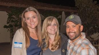 Event Coordinator Kristin with Jennifer and Jason