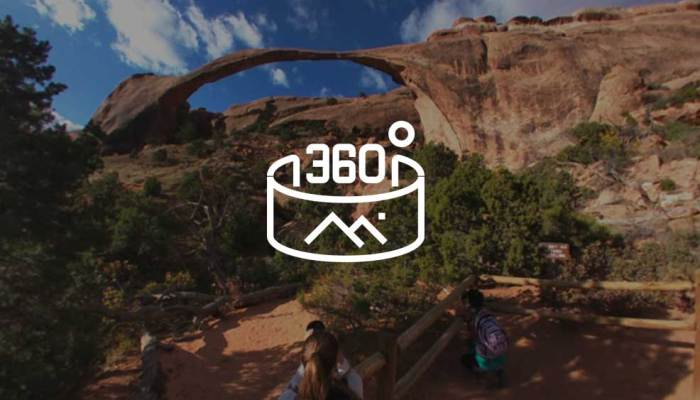 Click for a 360-degree interactive view of Landscape Arch