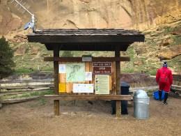 Information Kiosk in Smith Rock SP