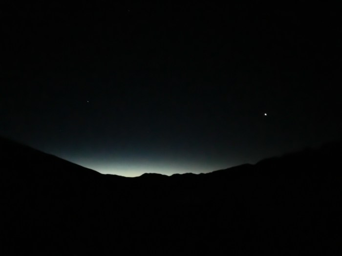 3am start on Grays Peak