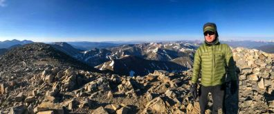 View west from Grays Peak