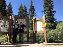 Mike & Jeff at Stephens Gulch Trailhead