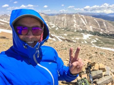 Jeff Hester on Horseshoe Mountain