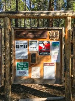 North Cottonwood Creek Trailhead