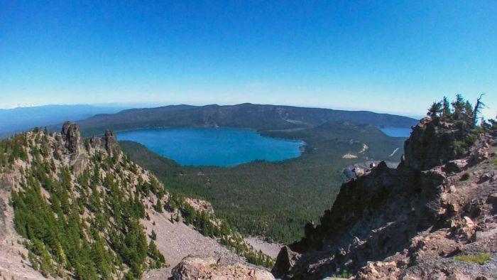 Awesome panorama from Paulina Peak