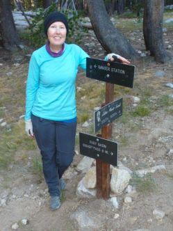 JMT Bishop Pass Trail junction