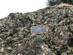 Schlieper Rock Plaque