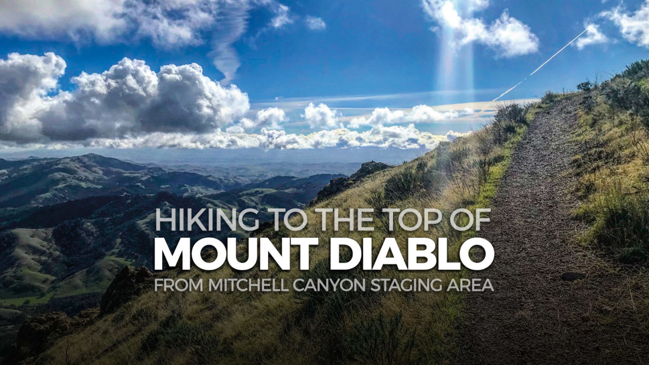 In winter (rainy season) and throughout spring, the falls trail offers fine views of the mountains most spectacular attraction, several. Hiking Mount Diablo From Mitchell Canyon Staging Area