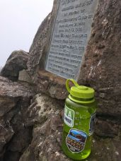 Plaque and NorCal Six-Pack of Peaks sticker