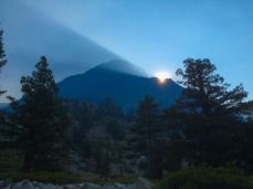 Morning Light at the Junction with the Piute Trail