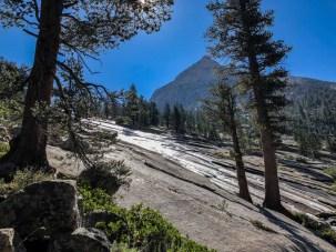 Dusy Branch rushing over granite