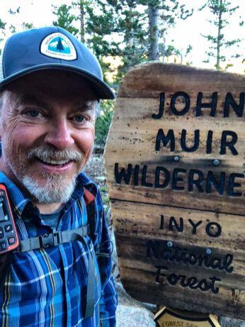 Exiting the John Muir Wilderness